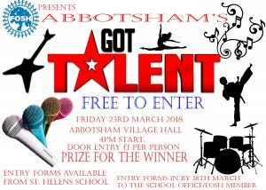 FOSH Abbotsham's Got Talent