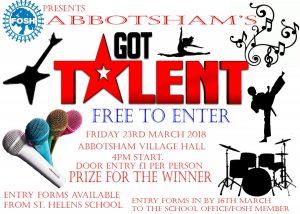 FOSH Abbotsham's Got Talent